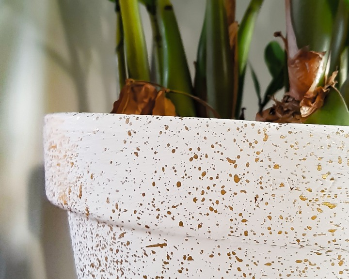 DIY: Plantenstandaard &bloempot.