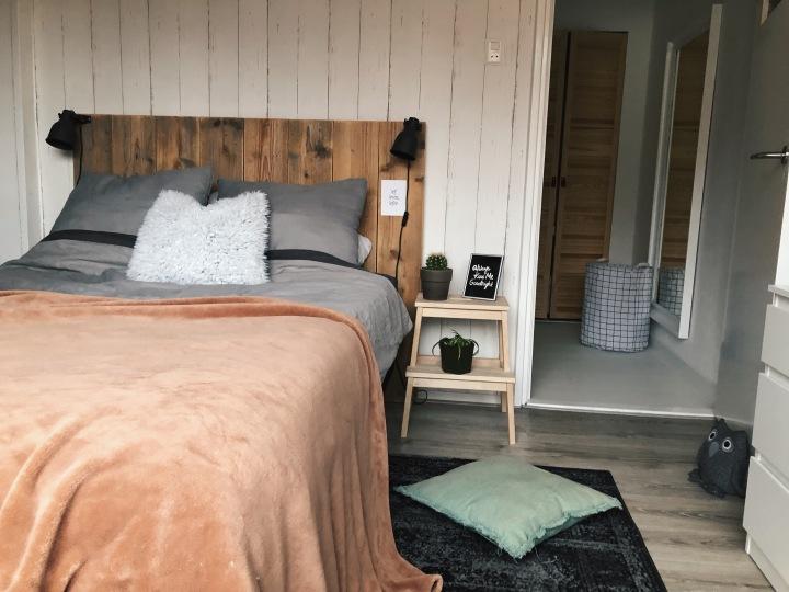 Slaapkamer winterklaar met warmekleuren