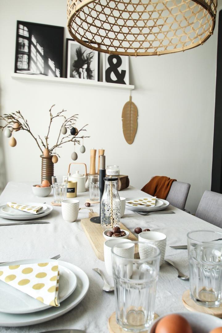 Een mooie paastafel +DIY