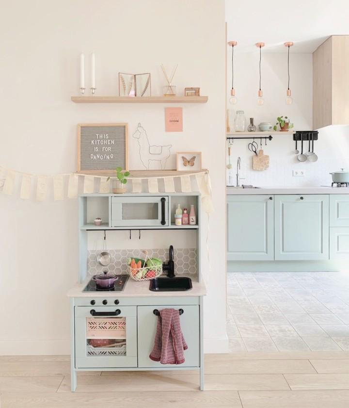 Ikea Duktig Hack De mini-keukenmake-over