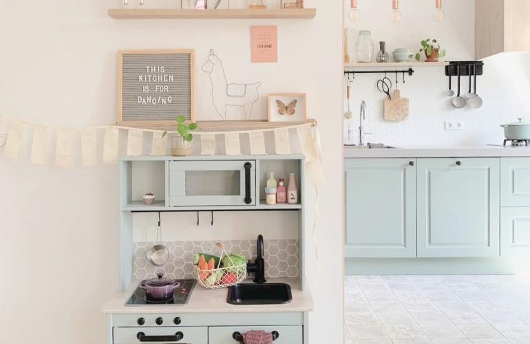 Ikea Duktig Hack De Mini Keuken Make Over Huusvantruus Com